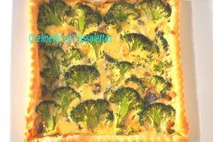 Quiche aux Brocolis et au Roquefort du Dimanche Soir et rappel sur la conservation des légumes