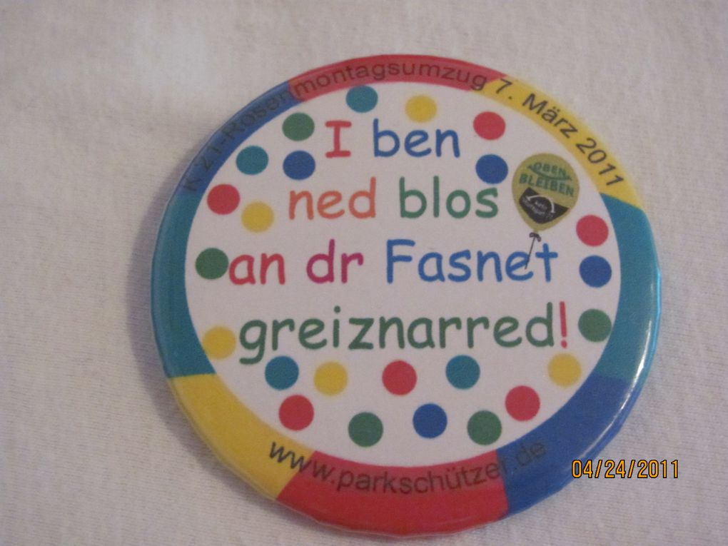 Protestbuttons