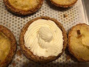 Choux pomme-coing ganache montée au miel en 2 façons