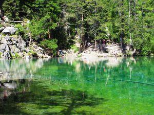 Le Lac Vert randonnée du 11 juillet 2021