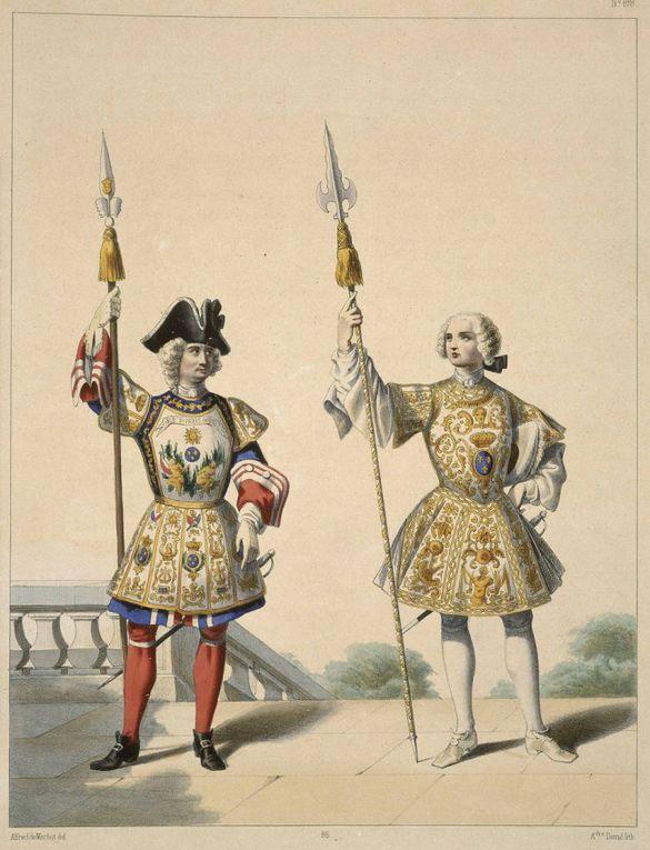 Maison du Roi -  Garde Ecossaise - Garde '' de la Manche ''