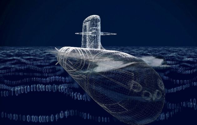 Euronaval - DCNS unveils its new submarine concept ship SMX3.0