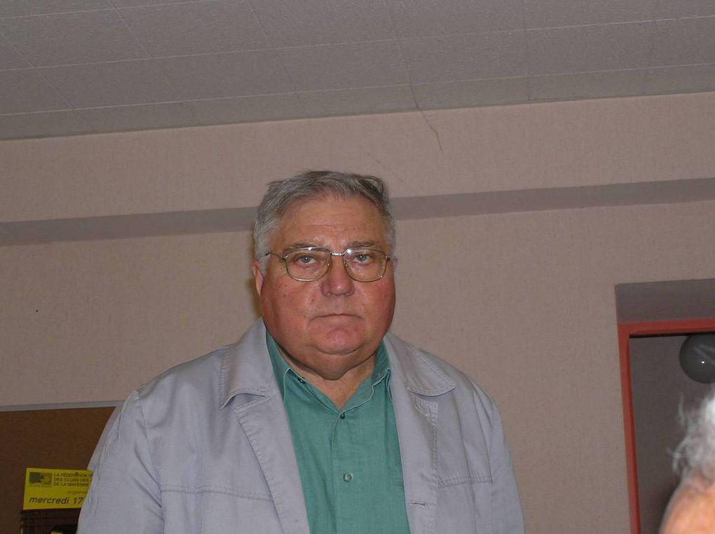 Les jurats du concours cidricole de 2006, première réédition depuis l'interruption des concours.