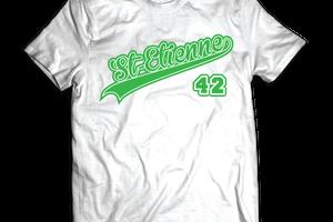 T-shirt France - Rhône-Alpes - St Étienne 42