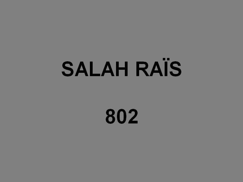SALAH  RAÏS  802 , Patrouilleur de la marine algérienne