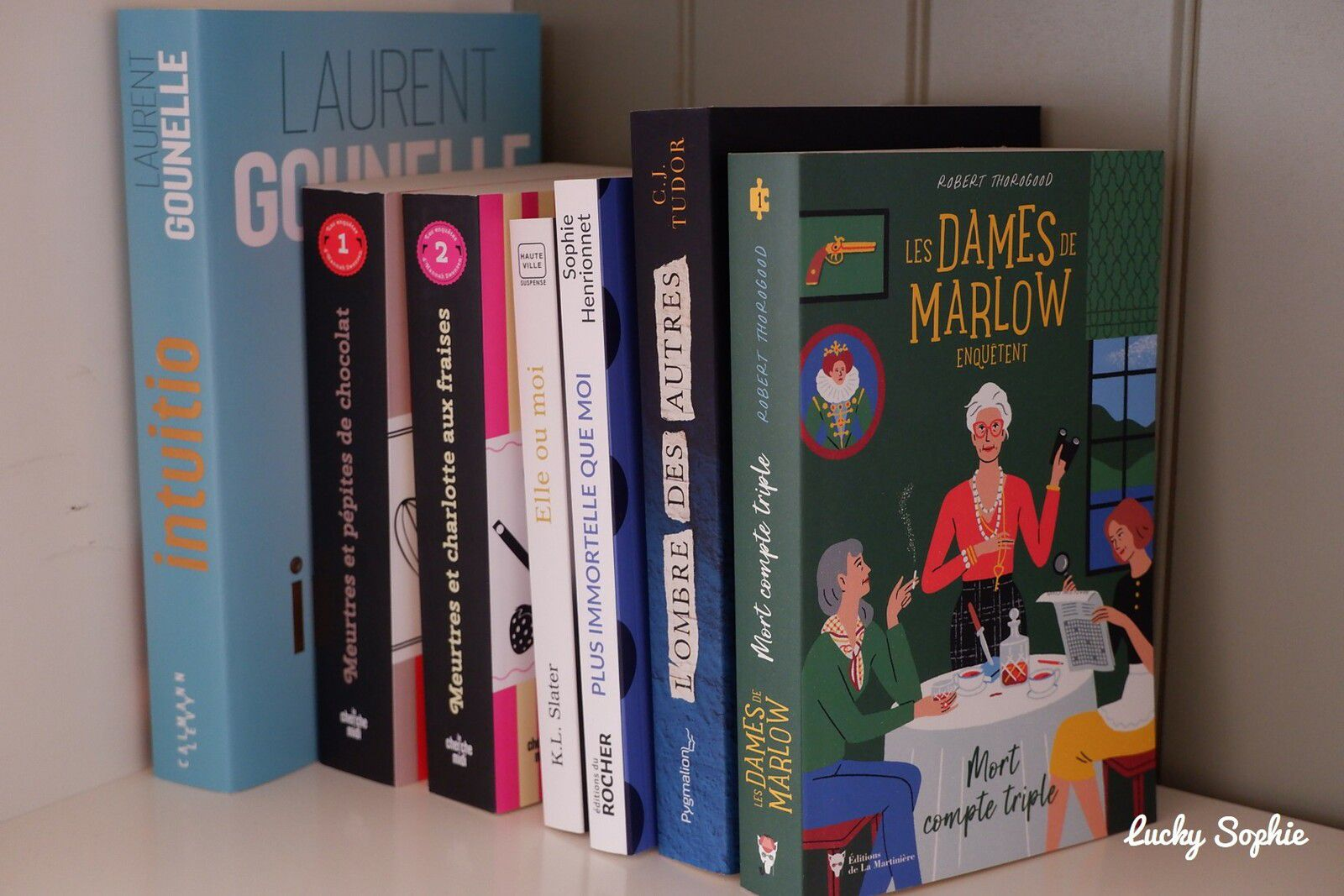 Mes lectures d'avril