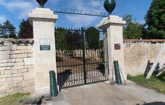 Des soldats russes inhumés au cimetière de la marine de Rochefort-sur-Mer (17)