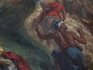 """""""La Lutte de Jacob avec l'ange"""" -"""