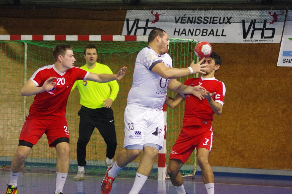 Vénissieux Handball s'incline face à Beaune à la dernière seconde - Photos : © Sports Vénissians