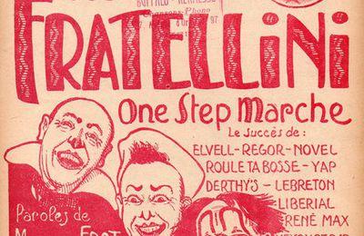 Les Frères Fratellini, des musiciens à succès