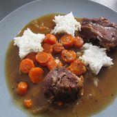 Boeuf carottes au cookéo - Mes Meilleures Recettes Faciles
