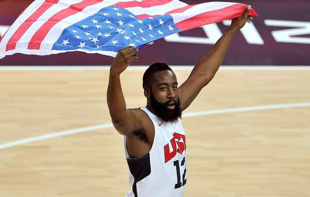 James Harden et Anthony Davis avec Team USA pour la Coupe du monde 2019 !