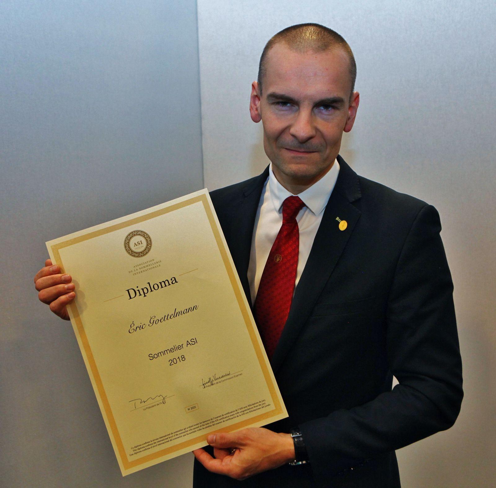 Médaille d'or en 2018, Eric Goettelmann organise la Certification en France depuis 2020. (JB)