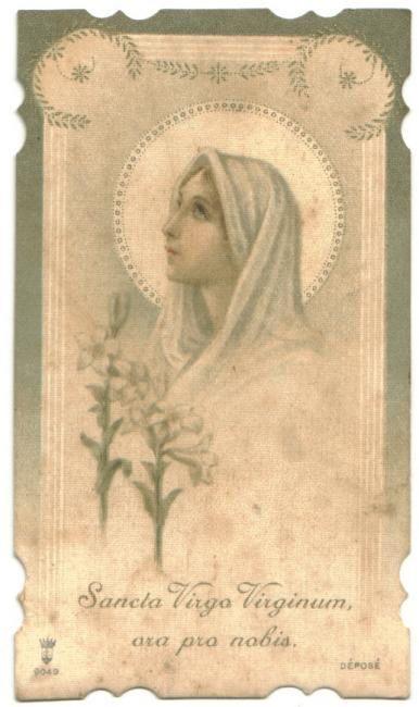 Raccolta dei Santini di Nostra Signora...
