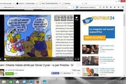 #CharlieHebdo pas raciste ? / La vidéo censurée par Dailymotion