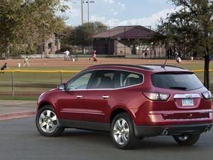 Le Chevrolet Traverse fait peau neuve!
