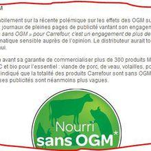 La «Course Zéro Pesticide» de Greenpeace prélude à la com' de Carrefour...