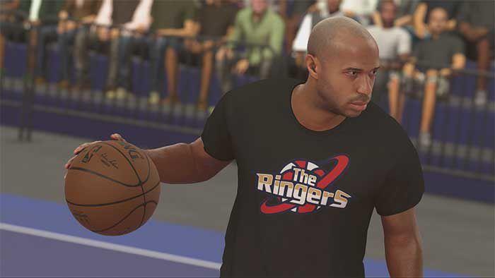 Jeux video: Thierry Henry dans #NBA 2K17 ! #XboxOne #PS4pro