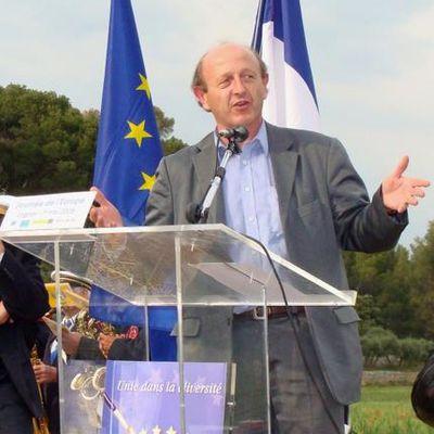 9 mai 2008 : beau succès de la Journée de l'Europe à Lagnes !