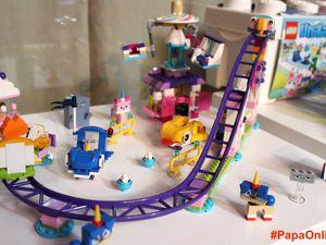 LEGO UNIKITTY.- Encore une nouveauté Lego, et on adore ! Lego Unikitty invite les plus créatifs à plonger dans le monde magique et scintillant de cet adorable chat-licorne qui change de couleur selon ses humeurs.