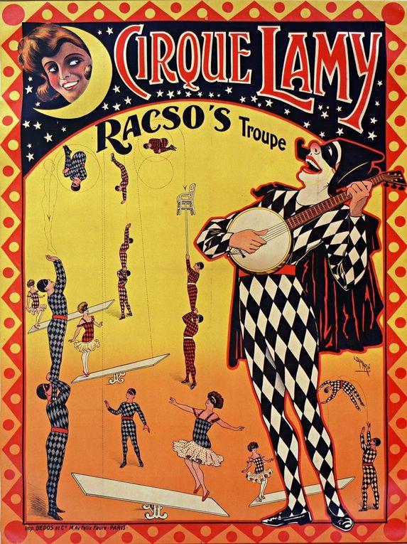 Les belle affiches de l'Imprimerie Bedos & Cie