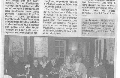LA PRESSE EN PARLE... avril 2011