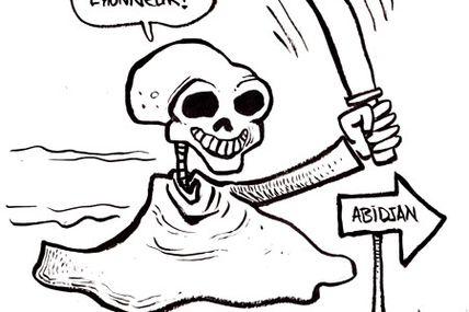 Côte d'Ivoire - La mort seule sera à l'honneur, par Adjim Danngar