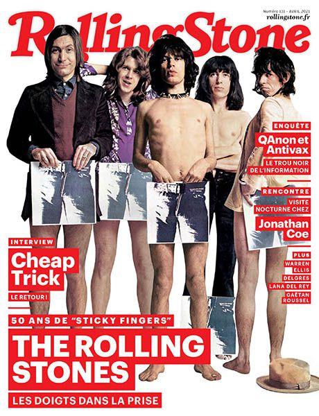 Bel article dans le Rolling Stone France d'avril 2021 !