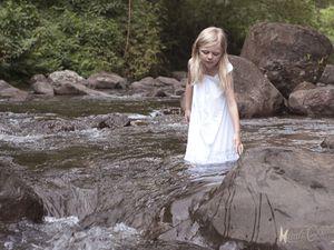 Cœur Bouliki la rivière blanche