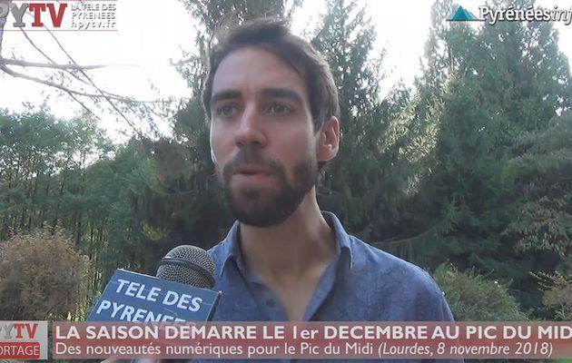 La saison d'hiver se prépare au Pic du Midi (8 nov 18) | HPyTv La Télé des Pyrénées