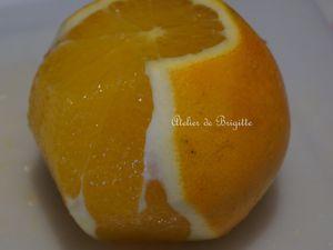 Roulé rapide au chocolat et à l'orange