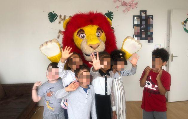 Anniversaire sur le thème du Roi Lion