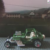 CUSTOM '42 JEEP CJ-2A 1942 HOT WHEELS 1/64 BUGGY - car-collector.net