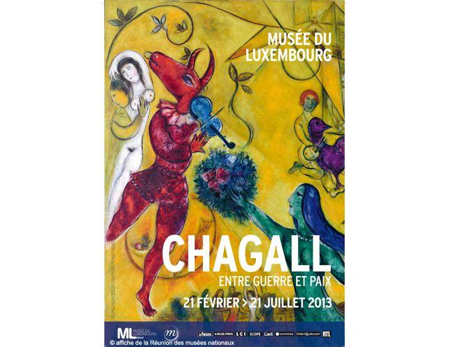 Marc Chagall: la vie est un conte de faits