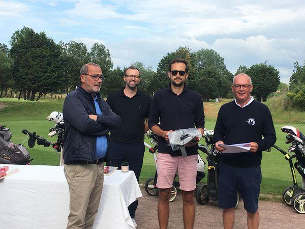 2ème tour de la compétition 2 jours / 2 golfs