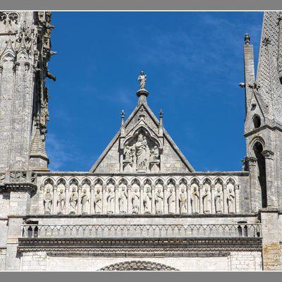 Visite à la cathédrale de Chartres.