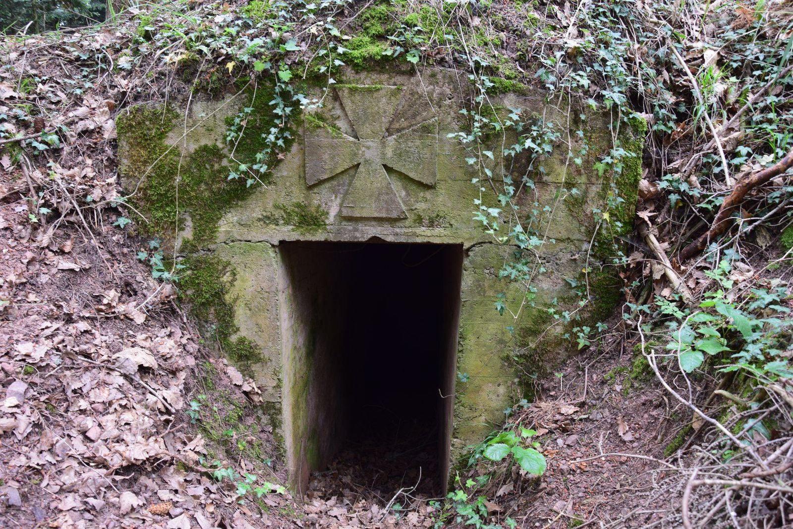 Bunker allemand de la Grande Guerre