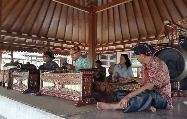 Borobudur - Le Gamelan Javanais