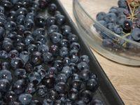 Schiaciatta di farro all'uva