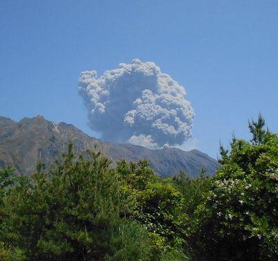 """Kagoshima (1) ... Flash """"Nature"""" / La magie d'un volcan"""