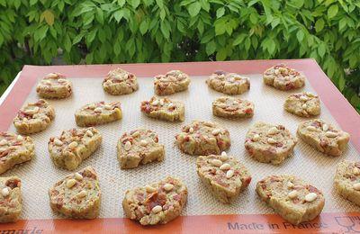 Cookies pesto et tomates séchées