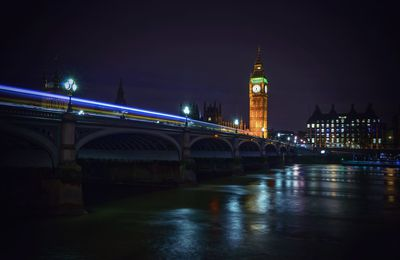 Westminster Brudge at night
