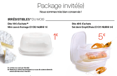 Package invité(e) d'avril
