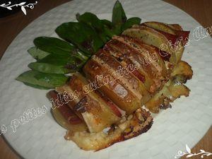 Pommes de terre au four façon raclette