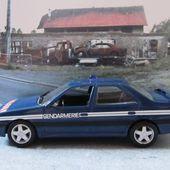 FASCICULE N°50 PEUGEOT 405 TURBO 16 GENDARMERIE NOREV 1/43 - car-collector.net