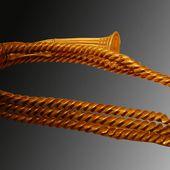 "France - Age du bronze ""ceinture"" en or - LANKAART"
