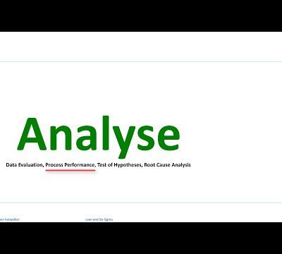 Analyse performance