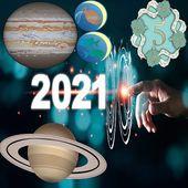 Astro-Numérologie de 2021 année universelle 5= Verseau -Bande annonce pour publication sur le blog!