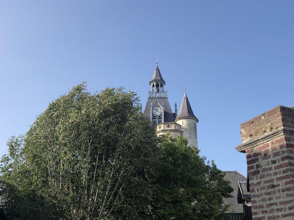 Visite de la ville de Rue.