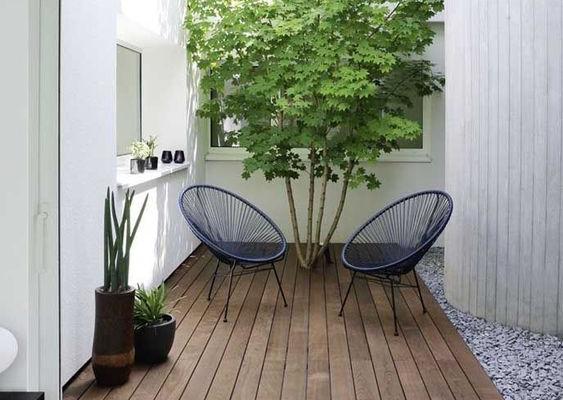 Trois inspirations pour le patio